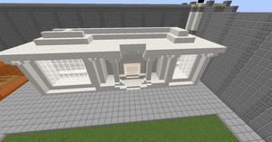 Minetown bank by ParadoxialGamer