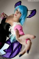 Morrigan Aensland Cosplay by Hellwina