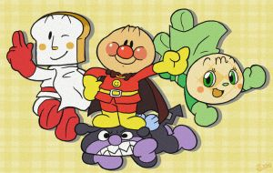 Hooray for Anpanman by Momogirl