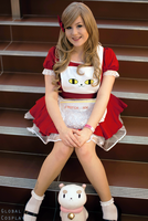 Bee and Puppycat with Global Cosplay 10 by Samii-Doll