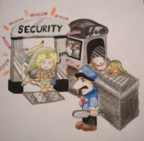 LinkComic1: Airport Security by starbuxx