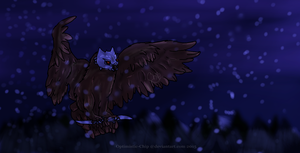 A WHISPER IN THE WIND - Battle Owl by Optimistic-Chip