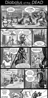 Diabolus of the Dead Comic Scene: Unfinished by AlfaFilly