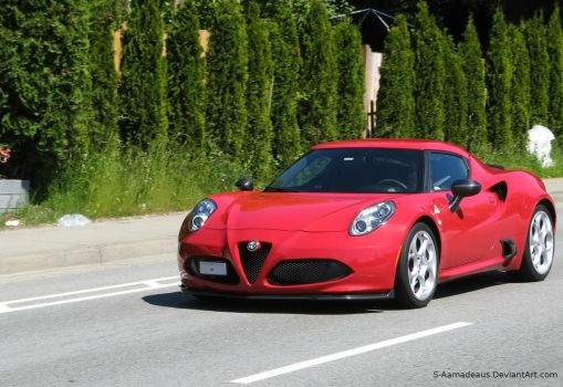 Alfa 4C by S-Amadeaus