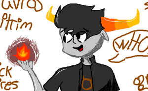 Tavros on iscribble by 2-DimensionalNerd