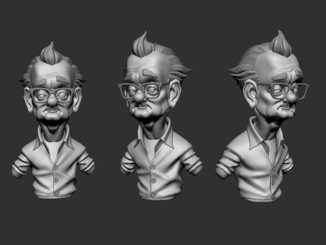 Bill Murray by NaughtyPixel