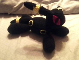 Umbreon Amigurumi by delanygingerprice1