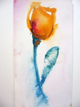 Watercolor Tulip 2 by anca15