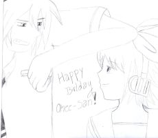 Rin x Mikuo Hapy birtday onee-chan! by TheGabithazz