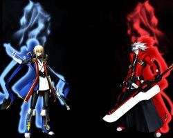 BlazBlue BG by DravenMasters