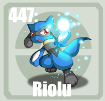 447 riolu by Pokedex