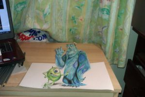 Monsters Inc/University by AMystery1994