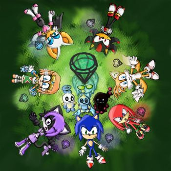 Sonic Contest Entry :D by CymriCat