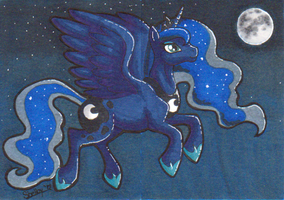 Luna ATC by KazultheDragon