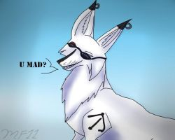 U Mad? by MidnightFox11