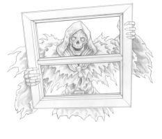 Grim Window by LeighKellogg