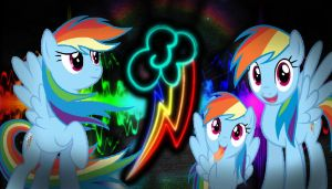 Rainbow Dash wallpaper by NaziZombiesKiller