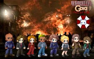 Resident Evil Gaia Outbreak by Crystal-Ice-Mirrors