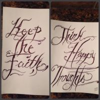 keep the faith//think happy thoughts by Strychnine-Twitch