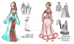 2nd Set of Fashion Sketches by SankofaRida