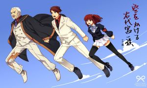 Umineko: Leap across the sky by hinohino