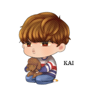 EXO Kai Chibi PNG by SooyoungLover