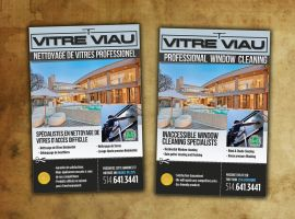 flyer for window cleaning company by sounddecor