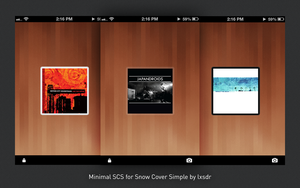 Minimal SCS for Snow Cover Simple by lxsdr