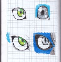 Artromon, Cismimon eyes by therosa10