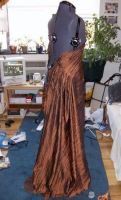 Copper Holiday Gown Const. 02 by Syagria