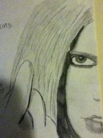 Avril Lavigne Drawing by jt0002