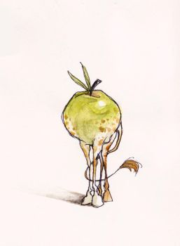 a funny apple related pun by koosh-llama