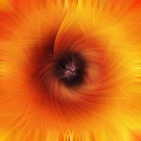 Abstract Sun Flower by Shifterfd