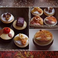 Fall's cakes by Evelin-Novemberdusk