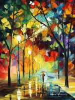 Trip to eternity by Leonid Afremov by Leonidafremov
