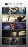 The Witcher Sign Pack by iamsointense