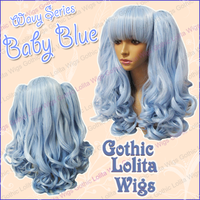 Wavy Series - Baby Blue by GothicLolitaWigs