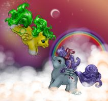 Baby Winged Unicorns by Contra-Diction