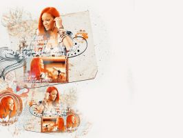 Red Haired Angel by winryheart