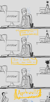 That One Guy. by Capricious-Spider