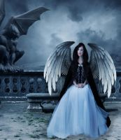 Evil Angel by laviniacosta