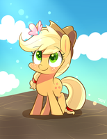 Apple apple by SION-ARA