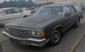 (1985) Chevrolet Caprice Classic Wagon by auroraTerra