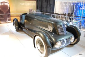 Edsel Ford's Model 40 Special Speedster -2 by FrogDailey