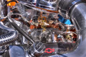 Carb and Manifold by Vonburgherstein