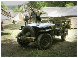 Willys Jeep by WormWoodTheStar