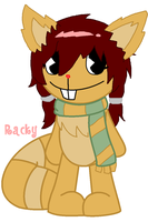 Racky by MannieWoo