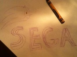 Sonic the Placemat by PatrickRGT92