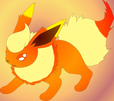 Firework the Flareon by kasanelover