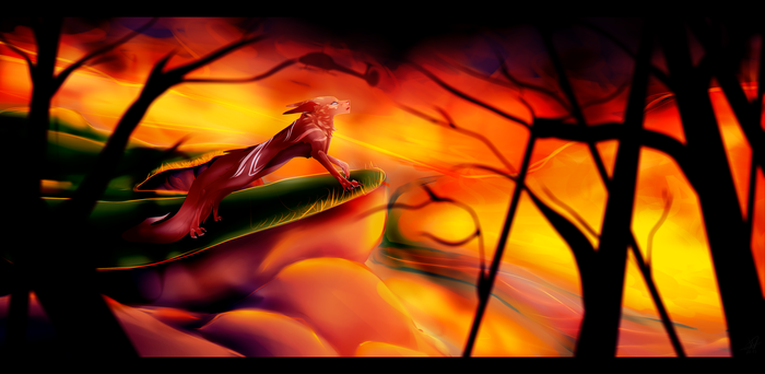 'Forest Fire' |P| by PandorARTS